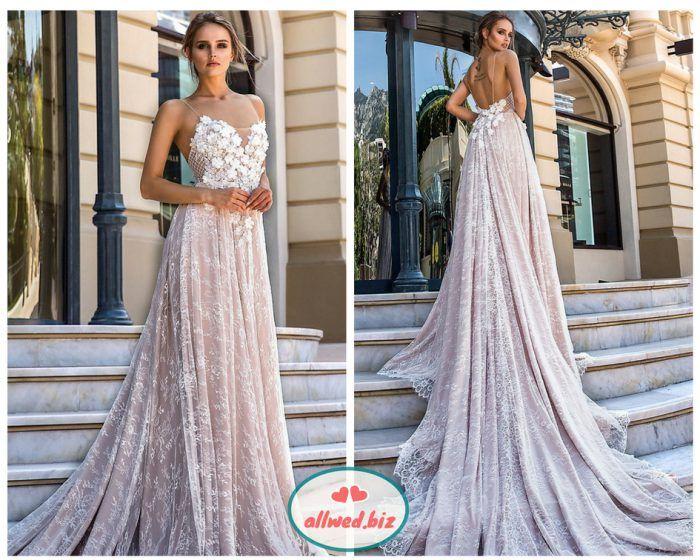 ed3bbc63351902 Весільні сукні з відкритою спиною стають все популярнішими у наречених. А в  колекціях будинків моди зараз складно знайти модель із закритою спинкою :).  І ми ...
