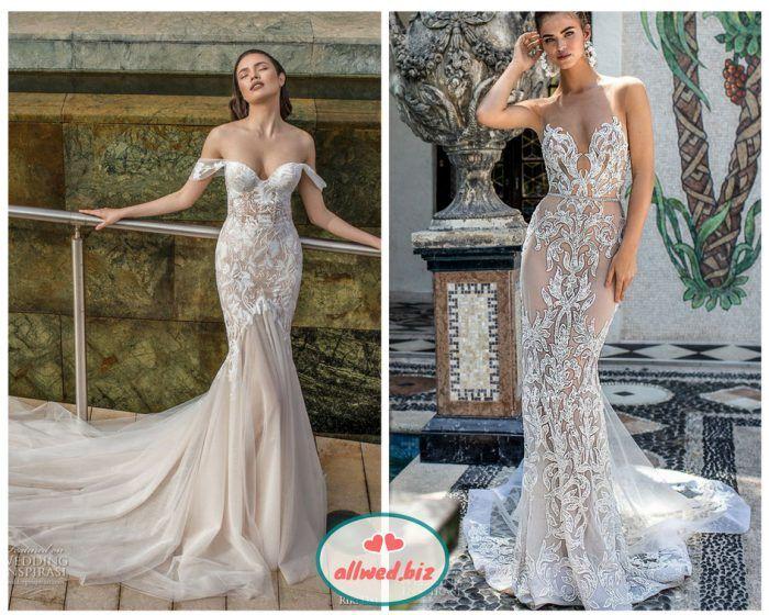 45169d17dd6994 Біле мереживо і бежева основа сукні створюють ефект голого тіла (якщо це  силуетна сукня), а в пишній сукні бежева або рожева спідниця підкреслюють  красу ...