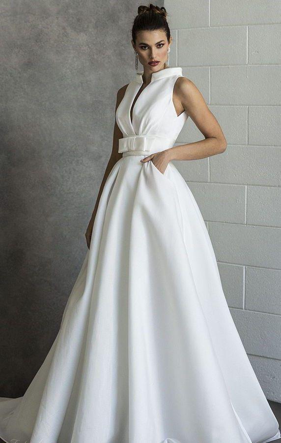 Роскошное, пышное свадебное платье в стиле Голливуда. Свадебная коллекция Valentini Spose Весна 2020