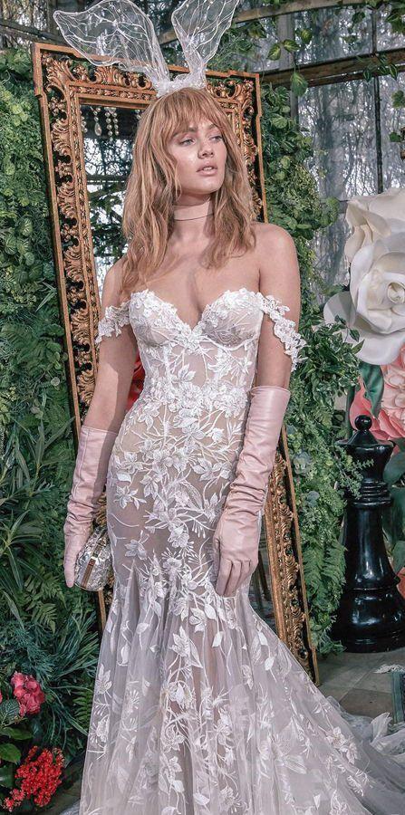 Длинные свадебные перчатки. Свадебные аксессуары. Свадебная Коллекция от Galia Lahav Весна 2020