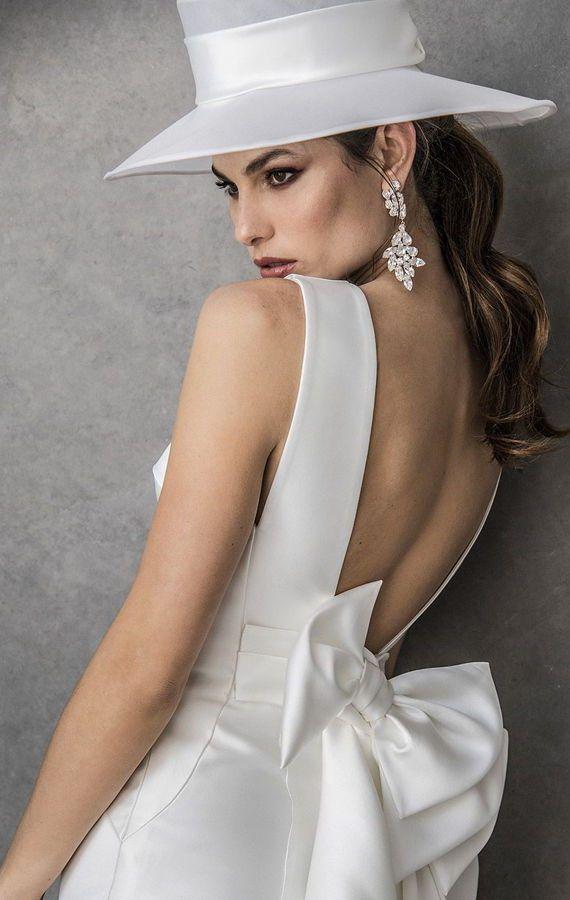 Свадебные шляпки. Свадебные аксессуары. Свадебная коллекция Valentini Spose Весна 2020