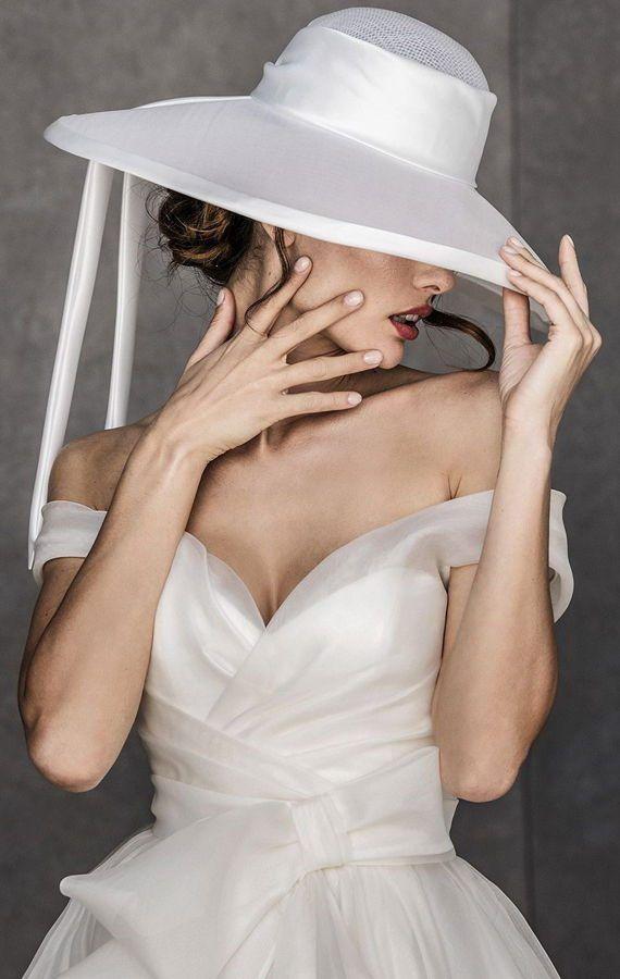 Элегантные свадебные шляпки. Свадебные аксессуары. Свадебная коллекция Valentini Spose Весна 2020