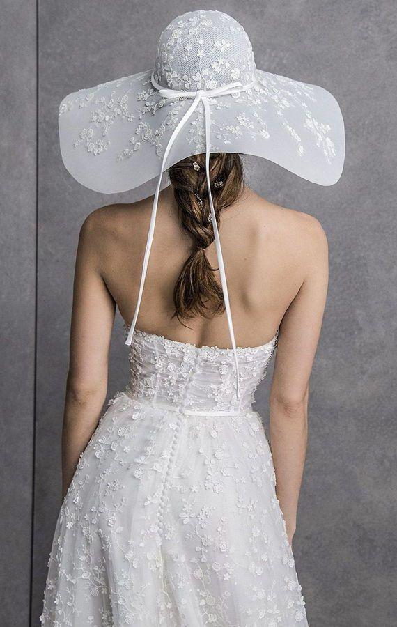 Свадебные шляпы. Свадебные аксессуары. Свадебная коллекция Valentini Spose Весна 2020