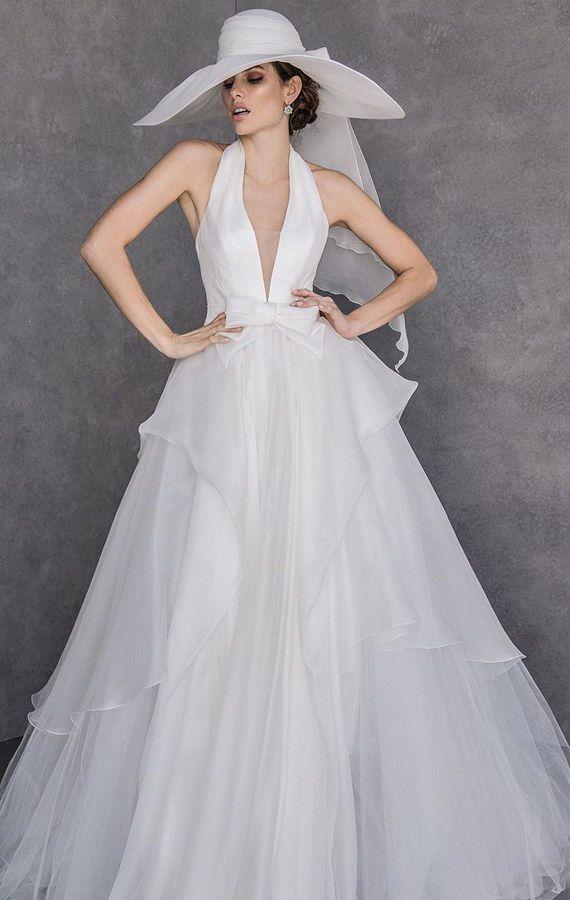 Свадебная шляпка – элегантный аксессуар для невесты. Свадебная коллекция Valentini Spose Весна 2020